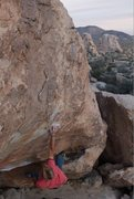 Rock Climbing Photo: left hand popped