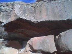 Rock Climbing Photo: Hard.