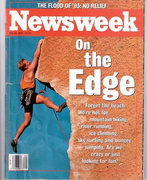 Rock Climbing Photo: Newsweek Cover shot of Chain Reaction in 1993