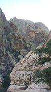 Rock Climbing Photo: Rainbow Wall