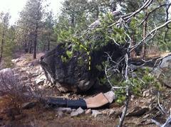 Rock Climbing Photo: Coldstream Canyon Boulder