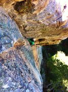 Rock Climbing Photo: D. Mabe on P2