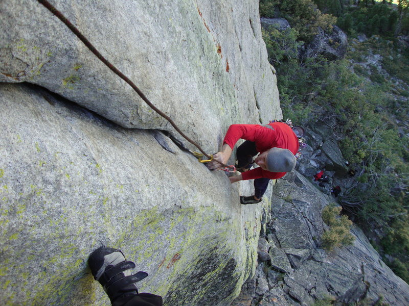 Rock Climbing Photo: Following Freak Show