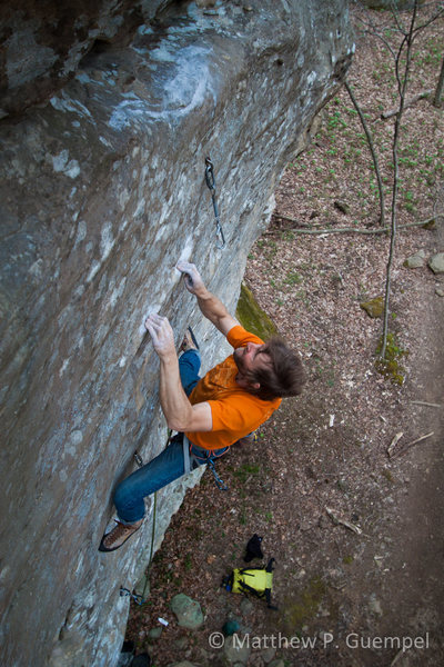 Rock Climbing Photo: Emperor of the North.... On of the best 13a's at J...