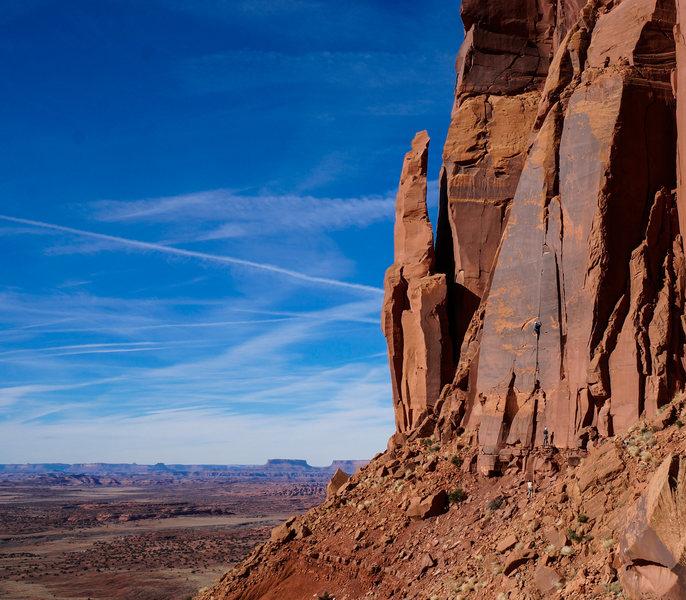 Rock Climbing Photo: Midway through Sorrow