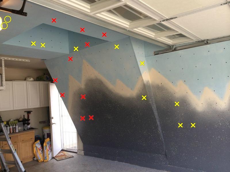 Rock Climbing Photo: test using the topo on climbing walls