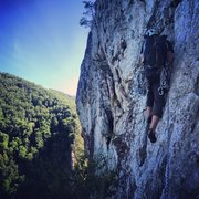 Rock Climbing Photo: Windy corner!