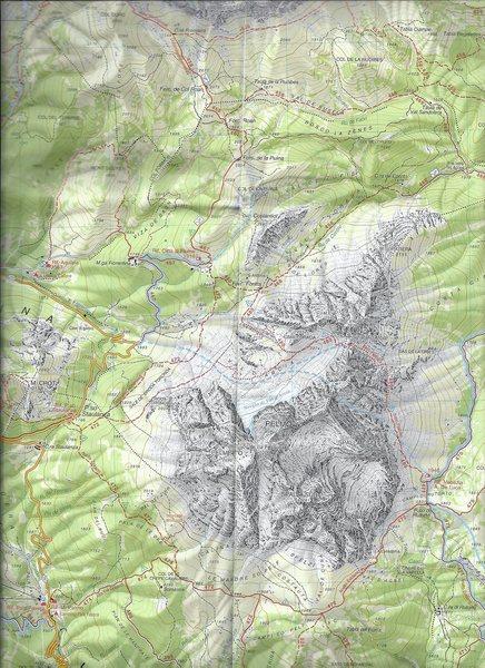 Pelmo Massif location