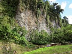 Rock Climbing Photo: Central Cuyuja Crag, Ecuador.