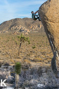 Rock Climbing Photo: Nicholas Rondilone finishing up White Rastafarian....