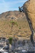 Rock Climbing Photo: Nicholas Rondilone finishing up White Rastafarian....
