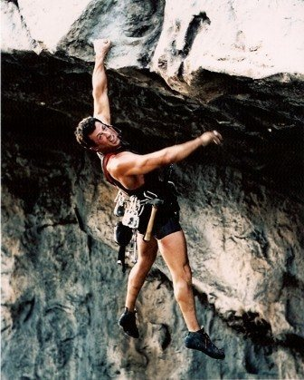 Rock Climbing Photo: He has my vote