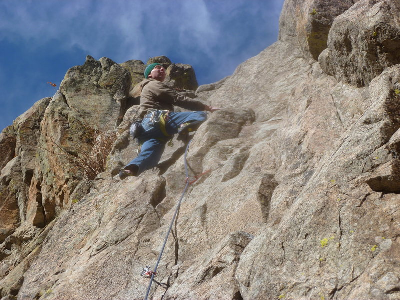 Rock Climbing Photo: Mark on the upper half.