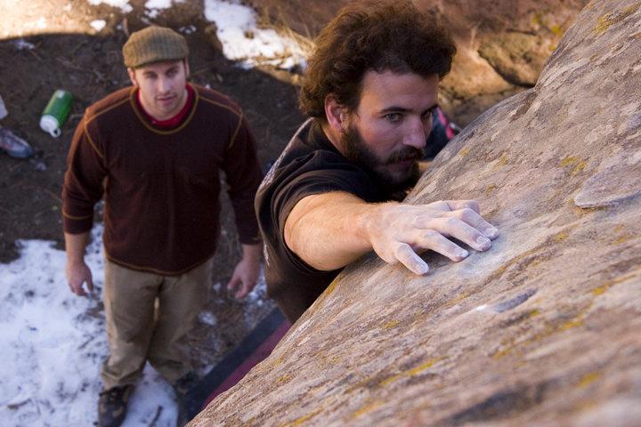 Rock Climbing Photo: Pine Mountain