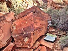 Rock Climbing Photo: Jessica on Laffy Taffy