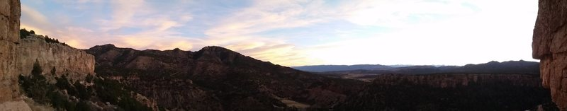 Pano from Cactus Cliff
