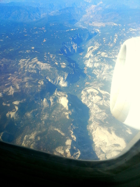 Rock Climbing Photo: The ditch from 35,0000 ft...