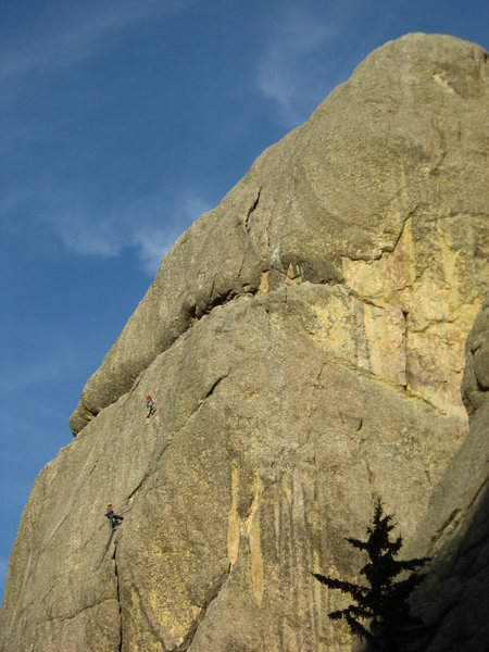 Rock Climbing Photo: Pitch 2/3