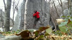 Rock Climbing Photo: Mr. Smiley
