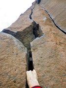 Rock Climbing Photo: The start of Goldrush