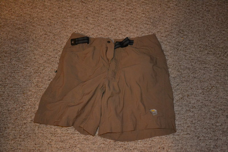 Rock Climbing Photo: Mountain Hardwear Men's short (size small)