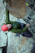 Rock Climbing Photo: Aaron on Pinch Me.