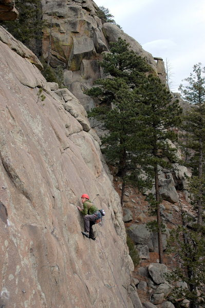 Rock Climbing Photo: Aaron on Beauty and the Beast.