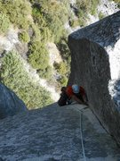 "Rock Climbing Photo: ""crux?"""