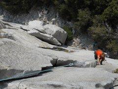 Rock Climbing Photo: mark of art