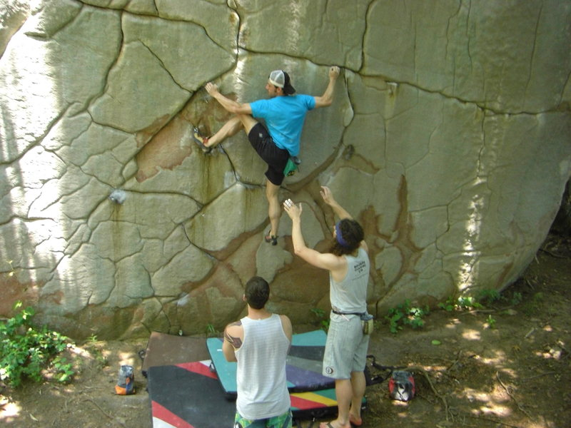 Rock Climbing Photo: LRC, TN.