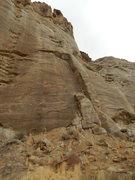 Rock Climbing Photo: This pillar will go!