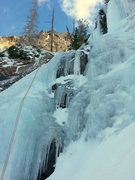 Rock Climbing Photo: Frozen in Time, Sundial Peak 12/5/14