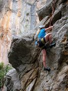 Rock Climbing Photo: In the middle of Zebani