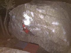 Rock Climbing Photo: Night Bouldering