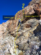 Rock Climbing Photo: Take your pick: Catharsis or Alienation Effect?