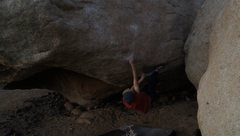 Rock Climbing Photo: Raspberry the bomber heel hook