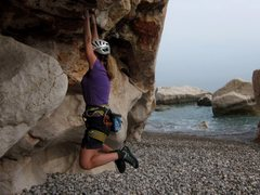Rock Climbing Photo: Akyarlar bouldering...