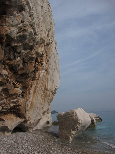 Rock Climbing Photo: Akyarlar...seaside fun!