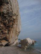 Rock Climbing Photo: Akyarlar...seaside fun!
