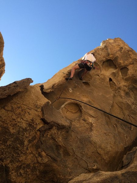 Rock Climbing Photo: necessary evil