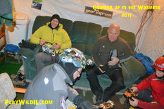 Rock Climbing Photo: gear-uphut