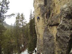 Rock Climbing Photo: Katabatic Cataclysm, 5.11b