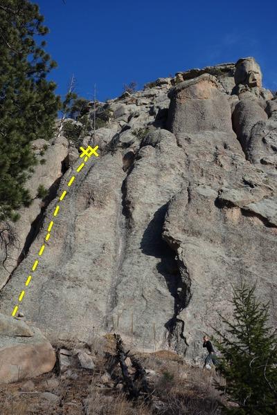 Rock Climbing Photo: Knob Walk.