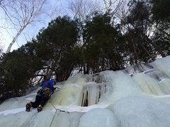 Rock Climbing Photo: Lakeshore Trail Seep