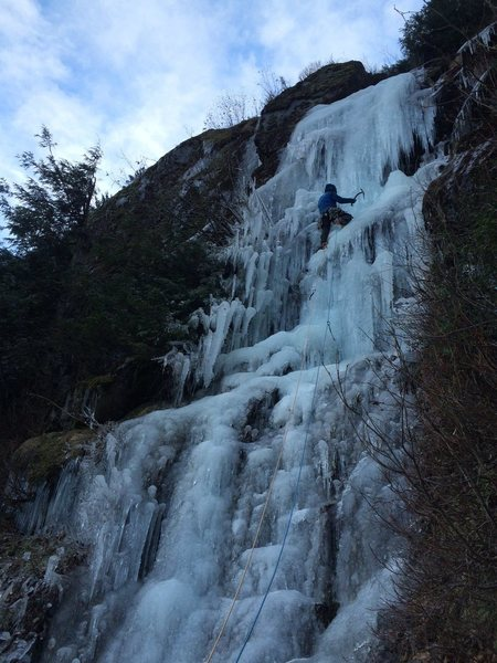 "Hope BC ice climbing ""a better mousetrap"" wi3-"