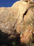 Rock Climbing Photo: The prob!