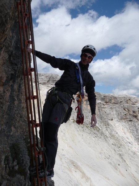 Rock Climbing Photo: What a civilized descent!