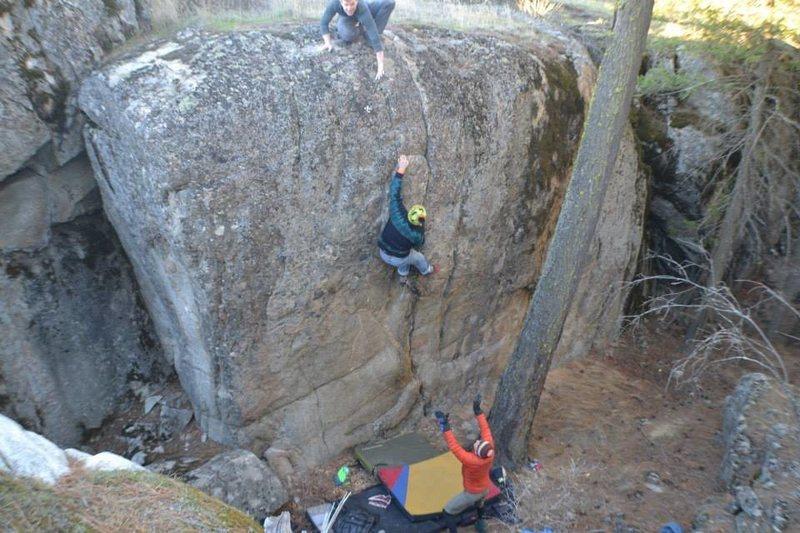 Rock Climbing Photo: Scarlett Johannsen- Spokane,WA