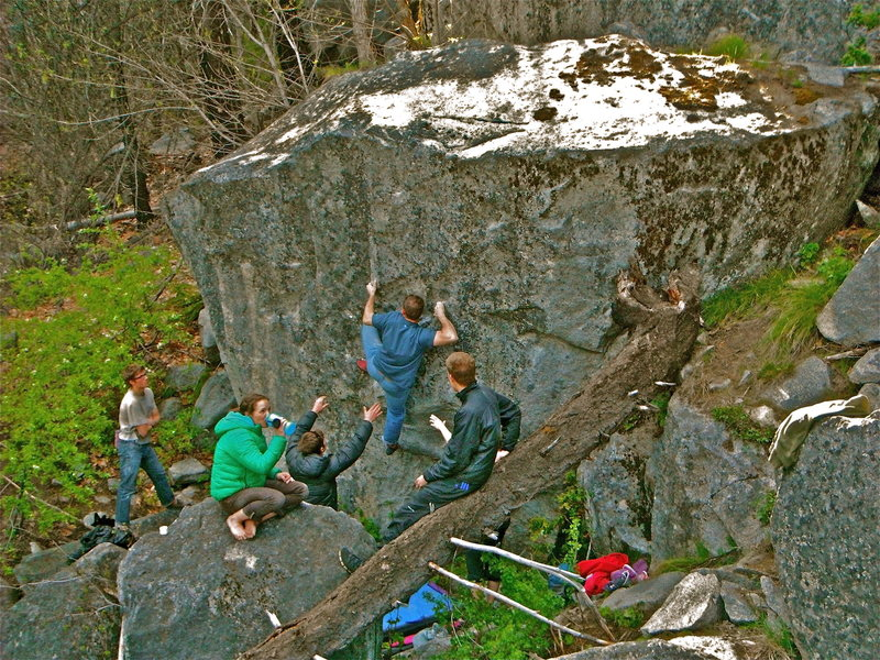 Rock Climbing Photo: Beckey's Classic- Leavenworth