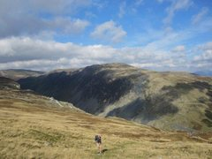 Rock Climbing Photo: Looking down towards Honister Pass